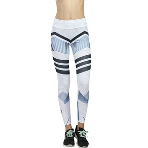 High Support High Impact Fitness Pants Printed Basic Cheap Patterned Girls Spandex Leggings Yoga Gym Women Pants