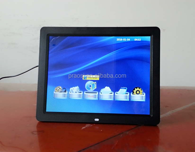 7 8 9 10 11 12 13 14 15 16 17 18 inch sizes led screen digital photo frame with video loop auto start play