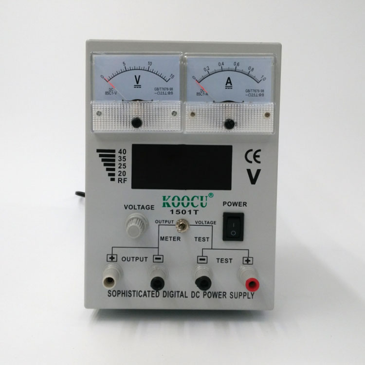 KOOCU power test regulated 1501T DC Power Supply for Mobile phone repair and Electronic Repair Services