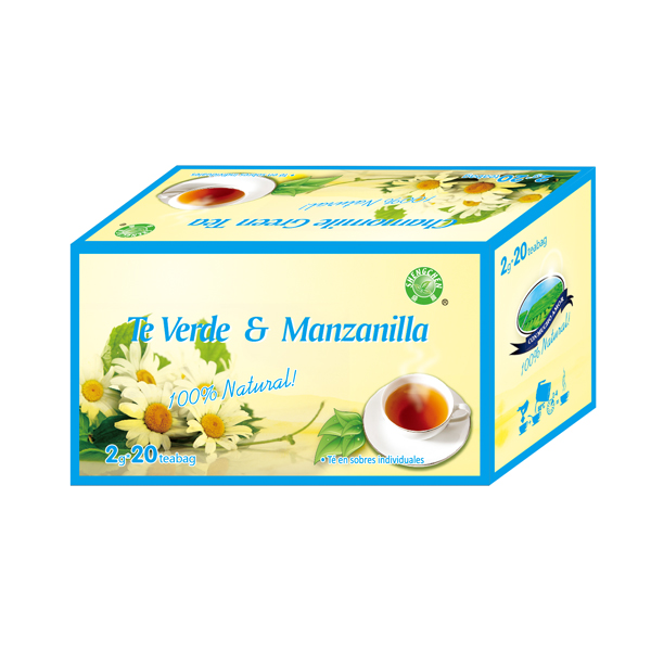 1g*20teabags/box Chamomile green Tea 100%natural ISO - 4uTea | 4uTea.com