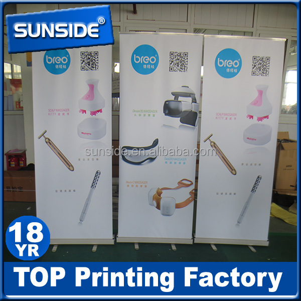 Aluminium Stand Retractable Pull up Roller Banner_SCM0926