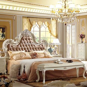 Modern luxury beds royal style bedroom set buy royal for La casa de mi gitana muebles