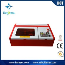 china 300 by 420mm working size rabbit hx-3040 usb mini laser engraver