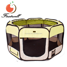 puppy dog cat play pen kennel foldable pet dog playpen