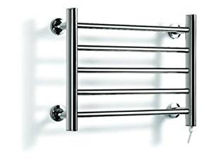 Shower Wall-Mounted Compact Stainless Steel Heated Towel Rack Towel Rack But Warm Clothes Automatic Tumble Dryer Energy Efficiency