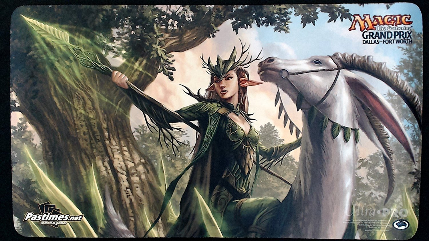 Magic the Gathering - Shaman of the Pack - Grand Prix Dallas Fort Worth 2015 Playmat