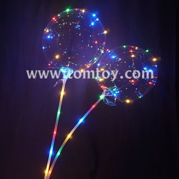 18 Inches Round Multicolor LED Bobo Balloons lights