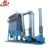 Industrial baghouse microwave extraction system
