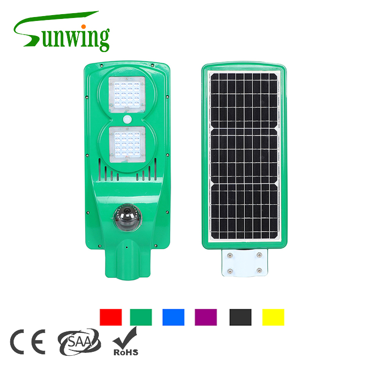 Factory support with outdoor led solar street light with cctv camera
