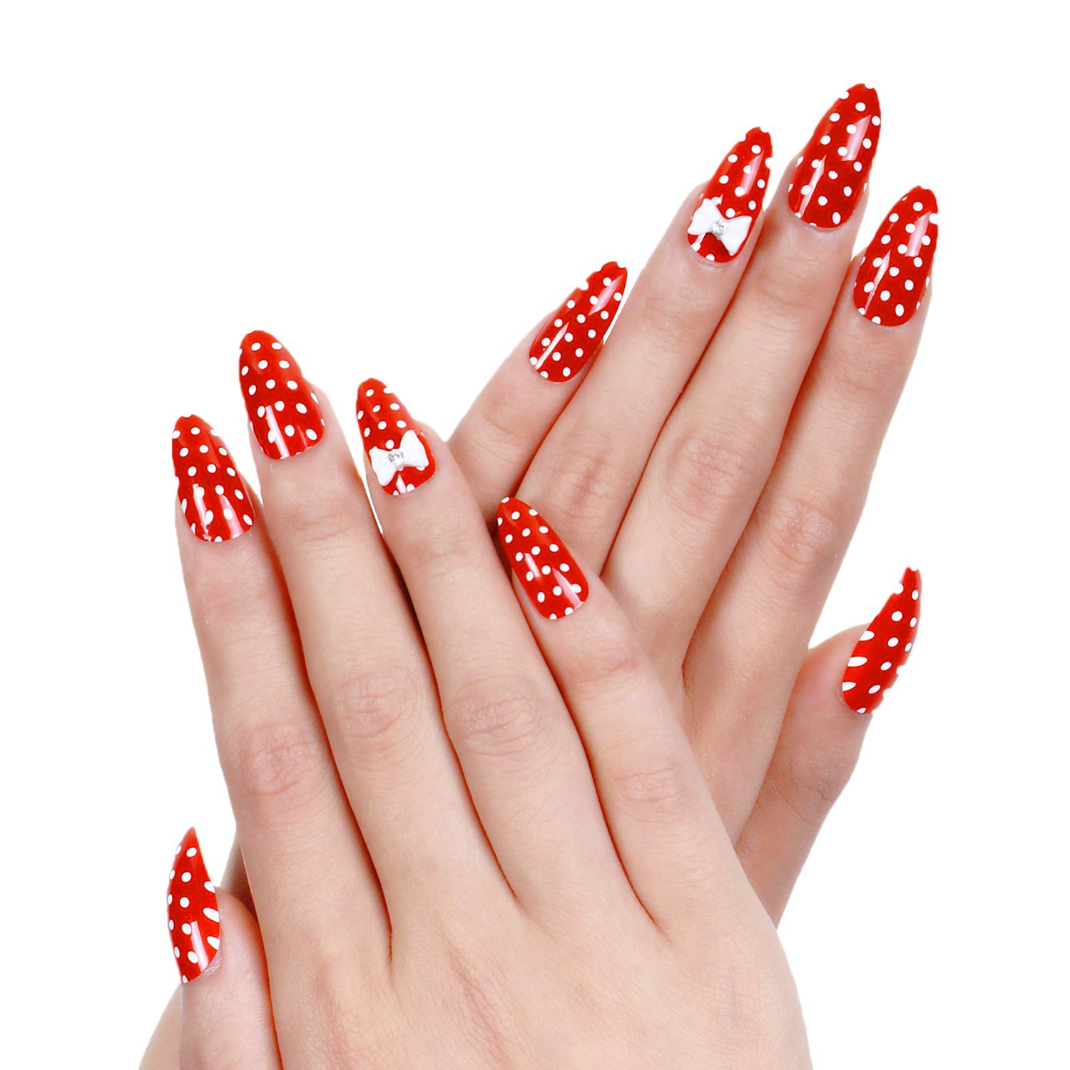 Cheap Acrylic Red Nails Designs, find Acrylic Red Nails