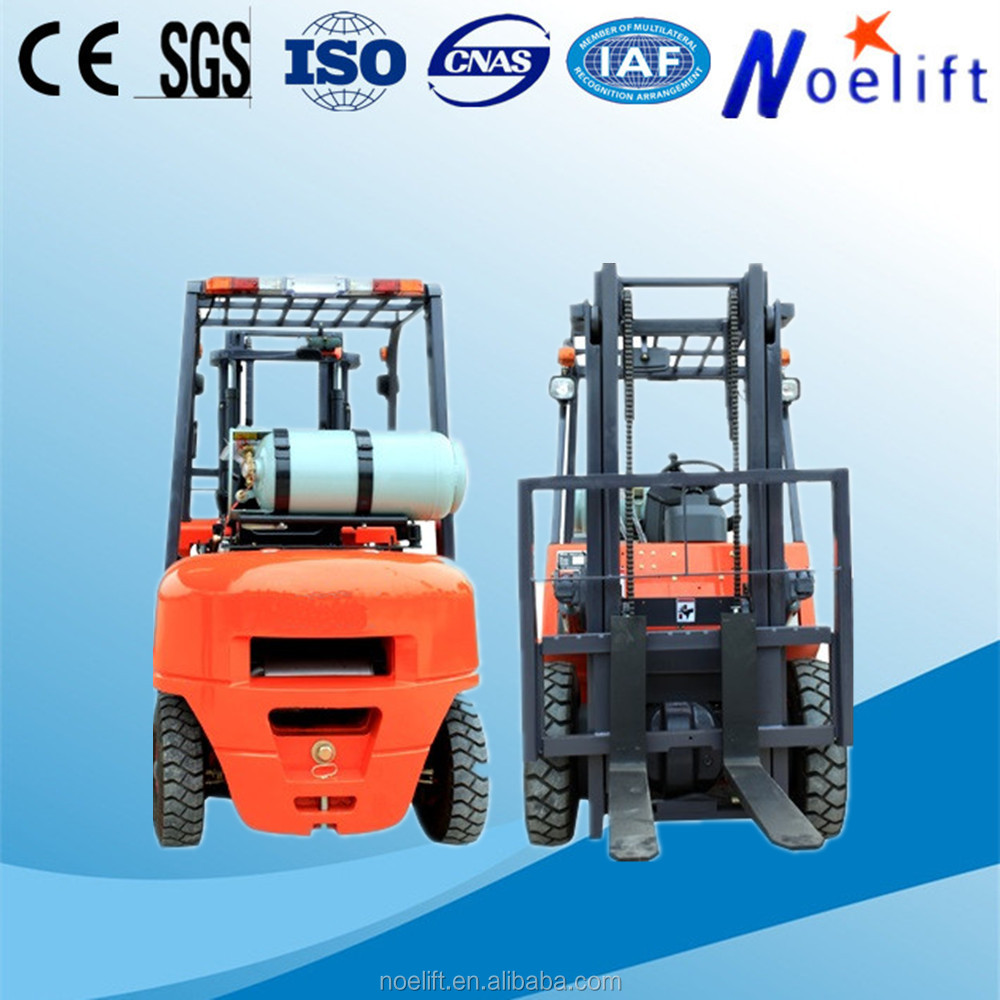 good price 1.5 ton Explosion proof forklift battery price Type and New Condition LPG-powered forklift with forklift propane tank
