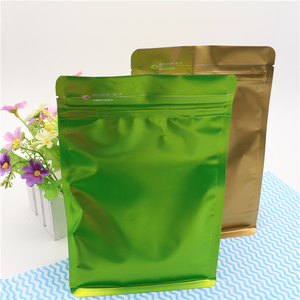 Eco friendly custom printing self sealed seed packets with zipper