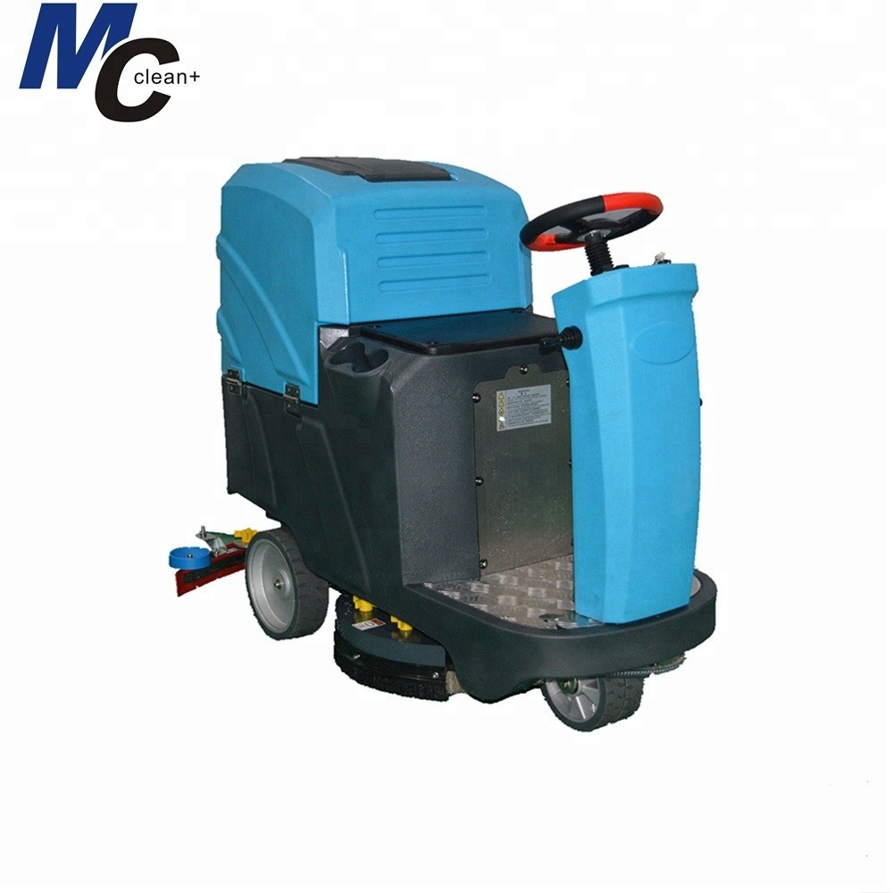 Rd560b Ride On Factory Concrete Floor Cleaning Machine