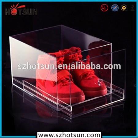 Transparente De Boîte Qualité Chaussures Meilleure Personnalisée SzMqGUVp