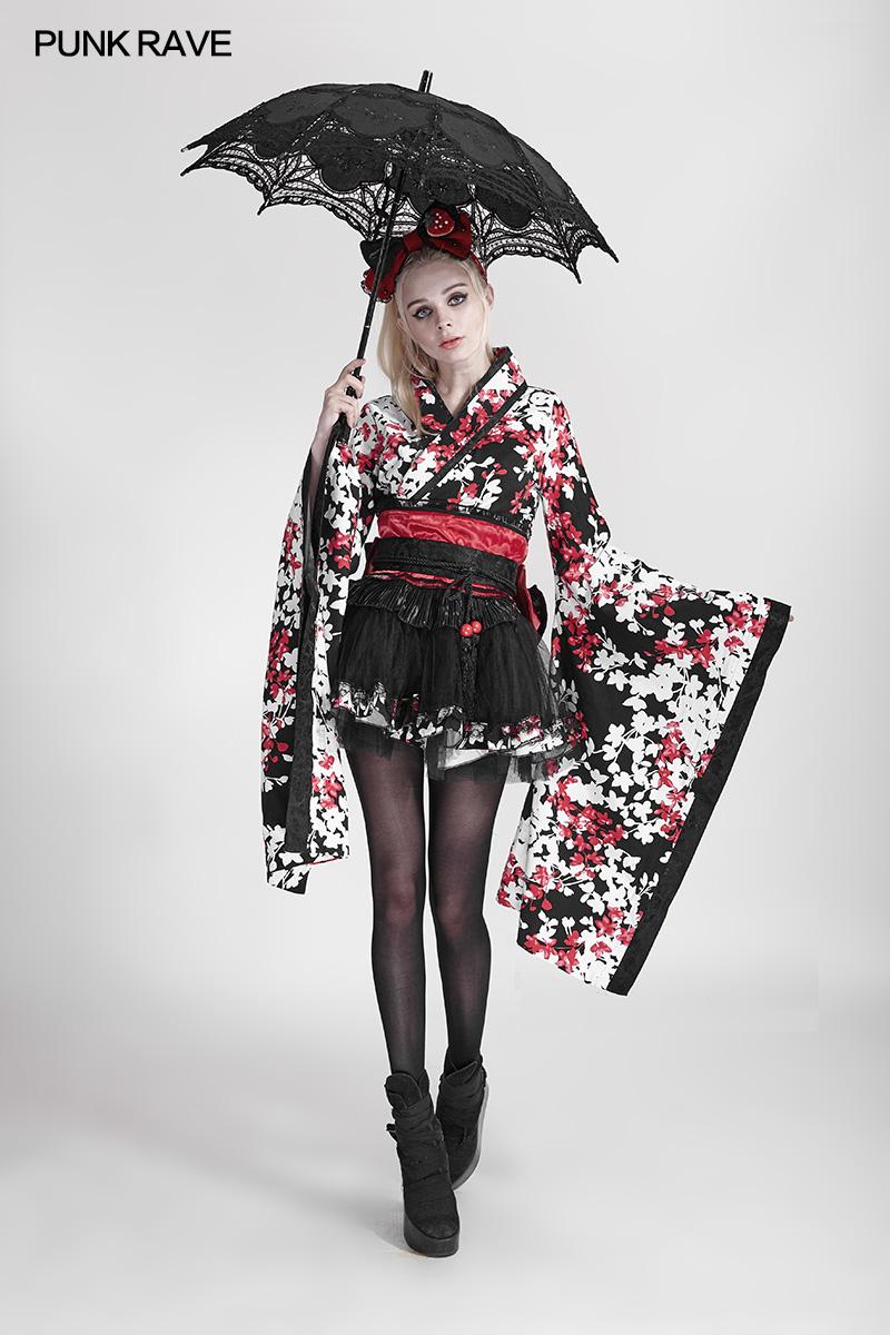 S-083 nieuwe ontwerp PUNK RAVE Lolita Kleding Accessoire paraplu