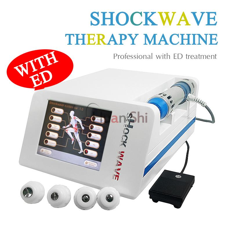 Professionelle Schmerzlinderung-Stoßwellen-Therapie-Ausrüstung ED / Stoßwellentherapie