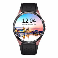 Smart watch kw88 android 5.1 smartwatch with bluetooth 4.0,SIM Card 2.0MP Camera