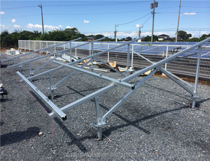 High Quality Aluminum Rail PV Solar Mounting Structure Rack