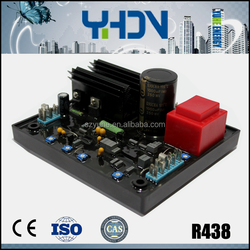 china generator avr R438 hs code for stabilizer