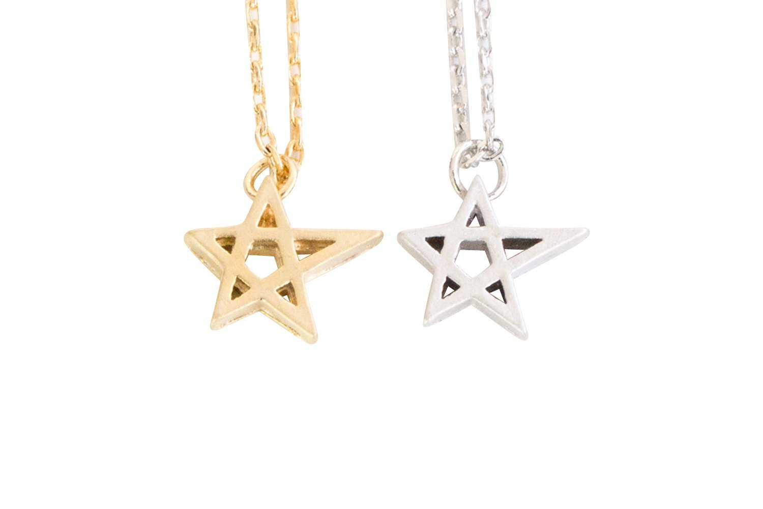 with matching earrings product silver shape co star necklace pendant