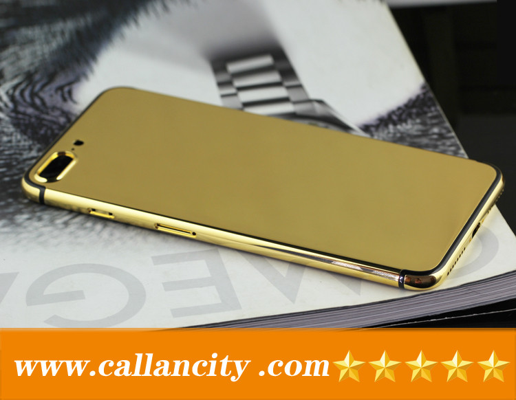 For Iphone 7 Gold Plating Back Cover Suppliers And Manufacturers At Alibaba