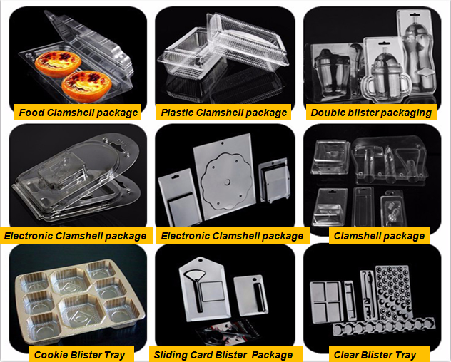 Custom Disposable Plastic Blister Packaging Medical Tray For Vials