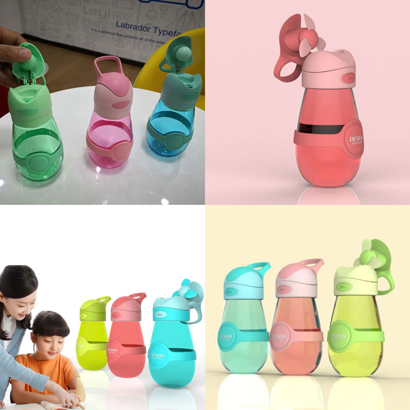 Novelty Fan cup Drink bottle gifts innovative car sales promotional gifts