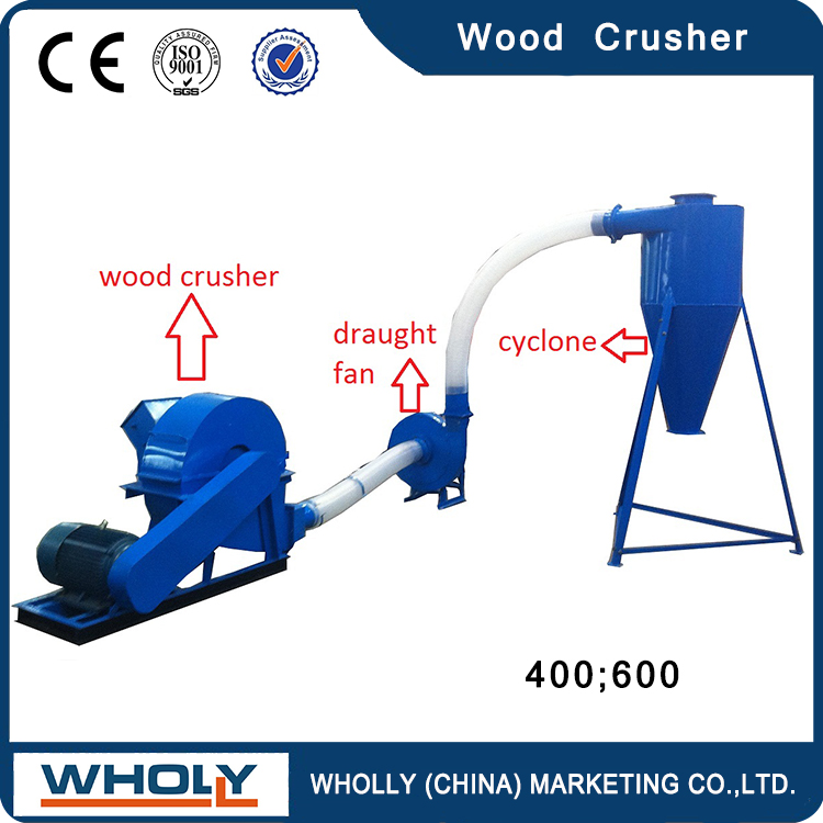 Good performance mobile waste scrap timber wood crusher large capacity wood pallet crusher
