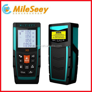 China Factory Mileseey X6 100m Electronic Ruler Bluetooth