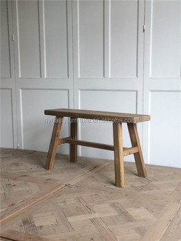 Vintage Furniture Wooden Long Bench Chair For Sale