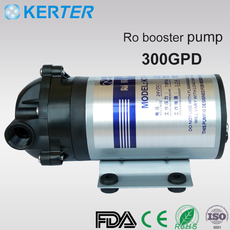 DC 24V Domestic Water Purifier RO Booster Pump 300GPD