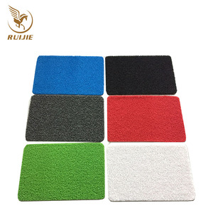 China Carpet Factory High Quality PVC Custom Coir Doormat