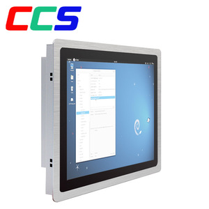 17 inch embedded industrial touch screen Panel PC Linux