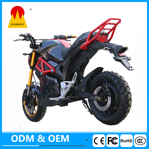 Racing motorcycle electric electric bike 3000 w up to 70KM Range