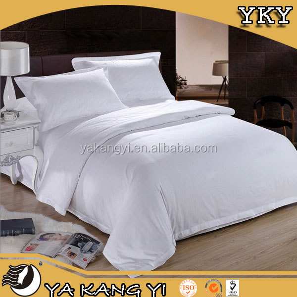 50% Polyester / 50% Cotton Hotel Bed Linens From China Supplier
