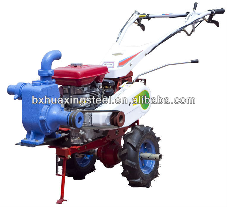 9 HP Diesel power farm rotary tillers and cultivator
