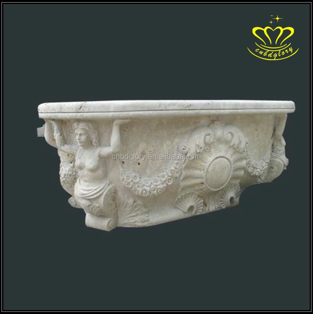 For Sale Natural Marbles Stone Bowl Bathtub