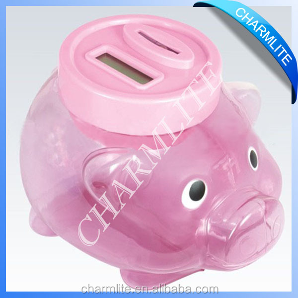 Large Plastic Piggy Banks