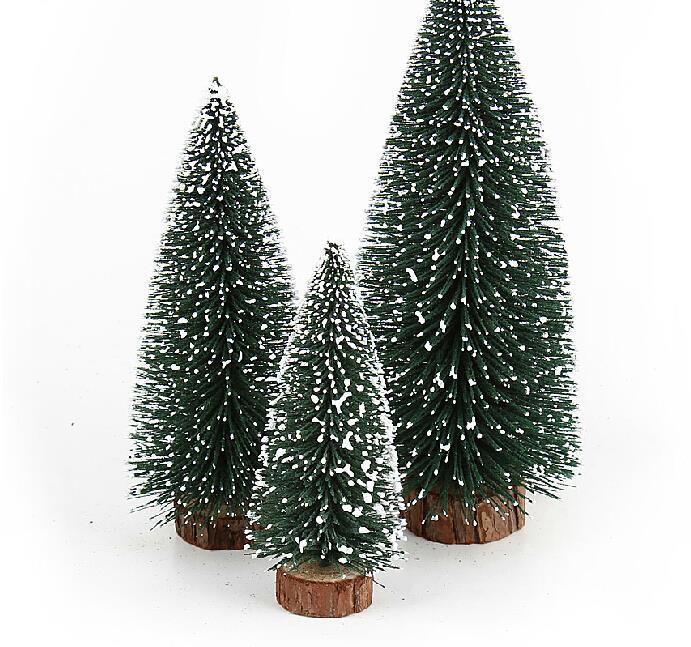Christmas Tree Needles: Mini Christmas Tree Pine Needles Flocking Snow Snow