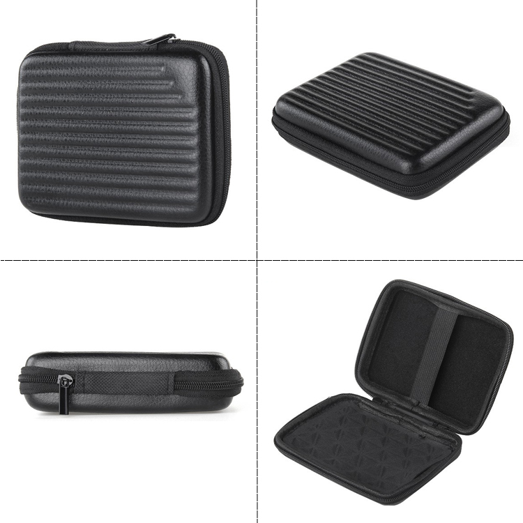 Custom External HDD Mobile Hard Disk Drive Ridged EVA Case