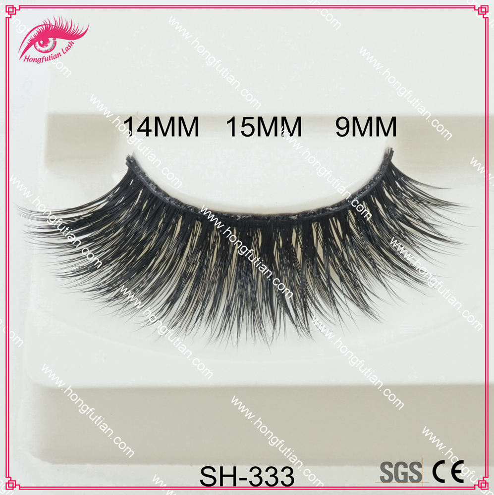 Dramatic Look Private Label Artificial Mink Eyelashes Extension