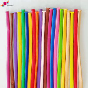 mixed color Magic Long Animal Tying Making Balloons twist Latex Fashion in China!Meet EN71!Long latex screw balloons for party
