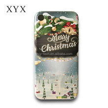 Smooth surface with exciting and colourful festive season designs back phone case for Motorola E3 2017