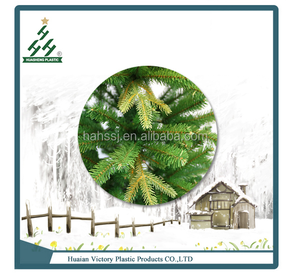Hot sales wholesale high quality custom made artificial PVC plastic christmas trees HS-M210-1363-PMXM-B
