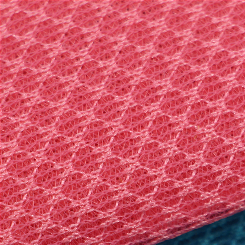 Most popular 380GSM 100% polyester 3d sandwich mesh fabric textil china
