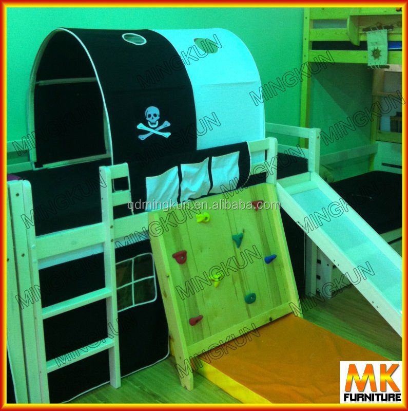 kids beds pine wood canopy beds