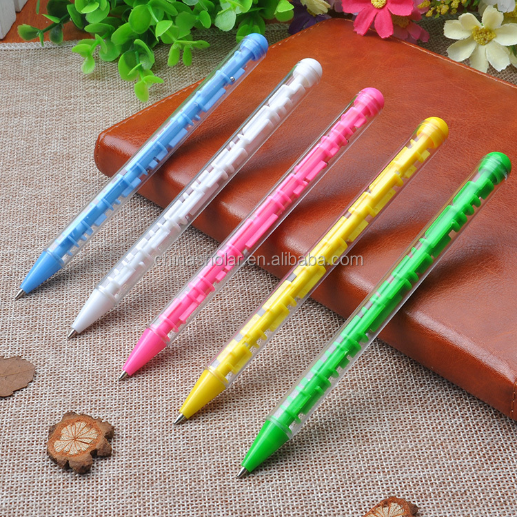 Fashion promotional advertising pen,gifts pen,maze ball pen