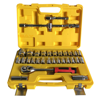 Auto Kit Household Combination Tools Ratchet Wrenches Set Batch Head Pawl Socket Spanner Ratchet Handle Car Maintenance Tool