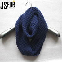 New Fashion Fall And Winter Knit Cheap Infinity Scarf For Women Or Men