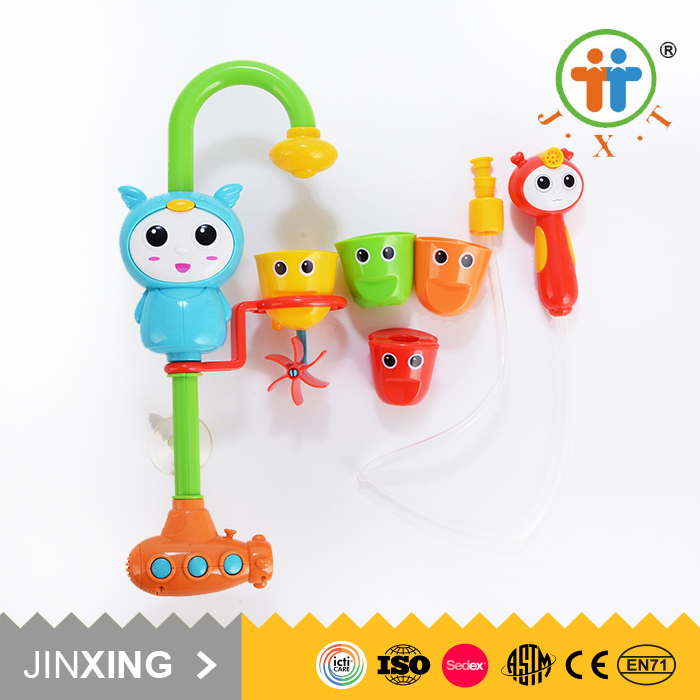 gift electronic water pipe educational baby bath toddlers plastic toy for wholesale